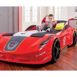 Cama para autos de carreras: ¡esto es lo que estoy comprando!