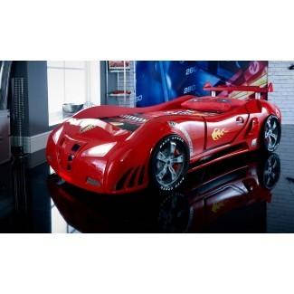 Cama de coche de carreras Speedster Ventura ST rojo - Cama de coche