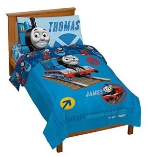 Thomas the Tank Juego de cama para niños pequeños