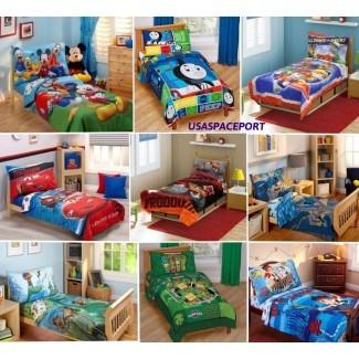 JUEGO DE CAMA PARA NIÑOS 4pc para niños edredón + sábanas en una bolsa