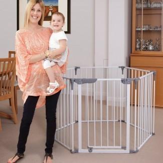 Royale Converta 3 en 1 Play-Yard y Wide Barrier Safety Gate