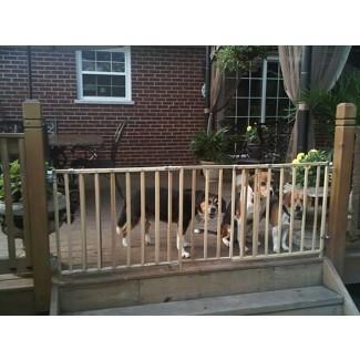Extra Large Supergate Pet Child Dog Gate Safety Extra Wide