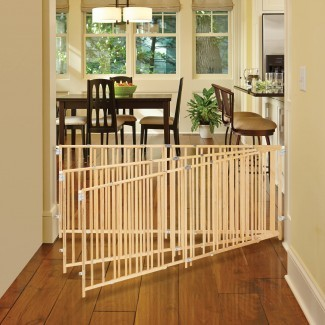 NUEVA puerta abatible de madera extra ancha norte States Supergate ...
