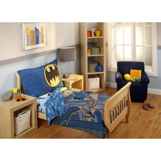 Juego de cama para niños pequeños de 4 piezas