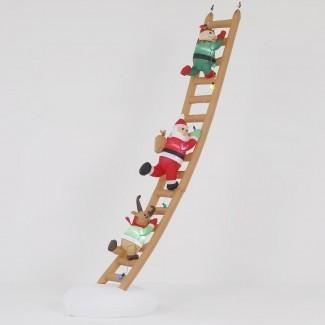 Figura de escalera de Santa