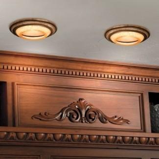Cubiertas decorativas de luz empotrada: para un mejor diseño de la lámpara