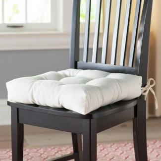 Cojín de silla de comedor (juego de 4)