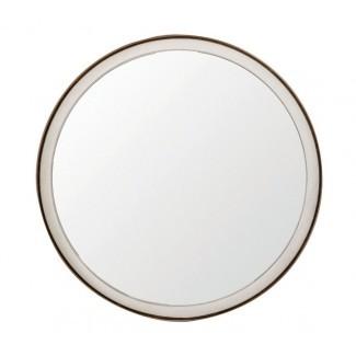 Espejo de acento pintado de Fritz