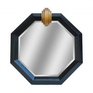 Deco Medallion Shiny Accent Mirror