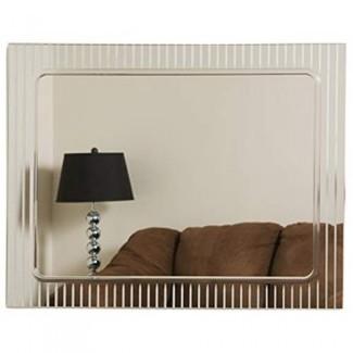 Espejo de pared decorativo sin marco Decor Wonderland - 23.5W x 31.5H in.