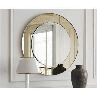 Los mejores espejos redondos Art Deco