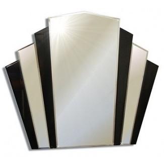 Espejos y vidrio - Espejos Art Deco: grandes Art Deco