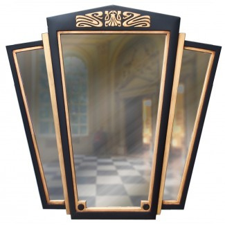 espejo de pared art deco grande - espejos de pared decorativos del Reino Unido
