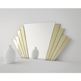 15+ Espejo de pared Art Deco | Espejo Ideas