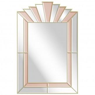 25 inspiraciones de espejos de estilo Art Deco