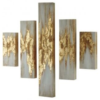 Imagen de varias piezas sobre acrílico, impresión en lienzo