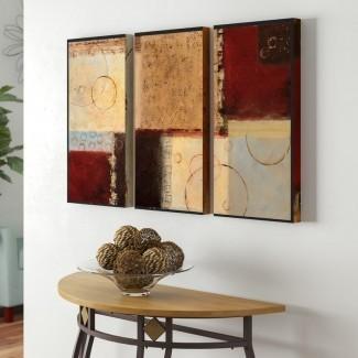 'Seasons Go Round I' Acrílico Imprimir imagen de varias piezas en lienzo envuelto