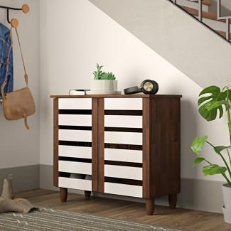 Gabinete de almacenamiento de zapatos de 9 pares [19659076] Gabinete de almacenamiento de calzado de 9 pares </div> </p></div> <div class=