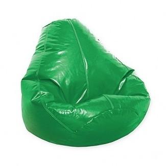 Silla de bolso de frijol de vinilo Wetlook para adultos - Baño de cama y