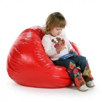 Sensorial Silla Beanbag pequeña, silla de vinilo sensorial Bean Bag ...