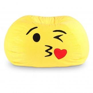 Silla clásica para bolsas de frijoles de vinilo -