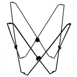 Combinación de marco clásico de silla de playa de mariposa