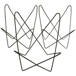 """Tres c. 1950 Classic """"Butterfly Chair"""" Frames Jorge ..."""
