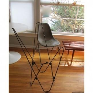 Marcos plegables vintage para silla de mariposa - Un par | Chairish