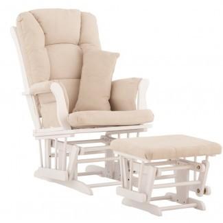 Tuscany Custom Upholstery Glider and Ottoman