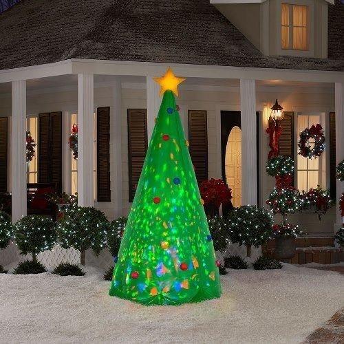 árboles de navidad inflables