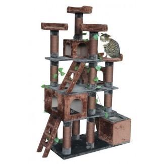 Torre de árbol de gato de gran actividad para gatos múltiples