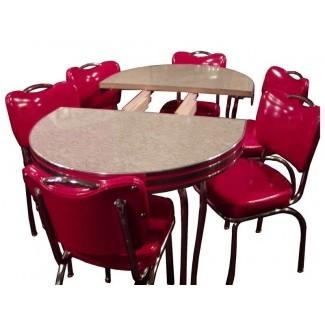 Mesa y sillas retro para su maravillosa casa | Seeur