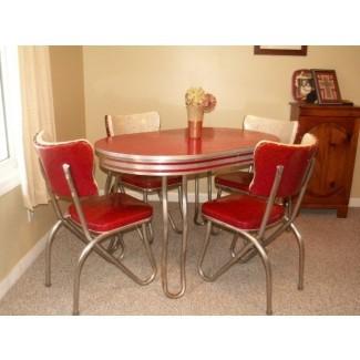 Juego de mesa y silla de cocina retro ~ comedor ~ comedor ...