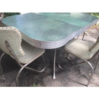 Mesa y sillas vintage de formica Cocina vintage de formica ...