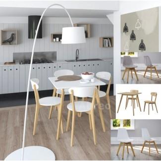 Muebles escandinavos de cocina retro comedor mesa grande ...