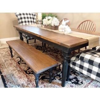 Vea nuestra galería - Muchas mesas rústicas de granja |