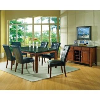 """Mesa de comedor Steve Silver Company Granite Bello, 42 """"x 70"""" x 31 """""""