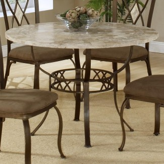 Classy Stone Top Dining Table - Diseño de mesa: Artificial