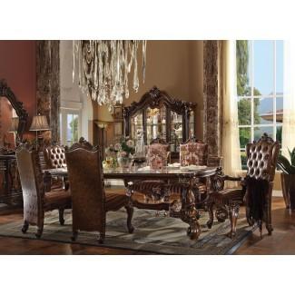 Juego de mesa rectangular de 7 piezas Versailles ...