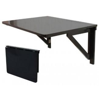 Mesa desplegable de madera maciza, comedor plegable ...