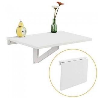 Mesa abatible de pared, cocina y comedor plegables ...