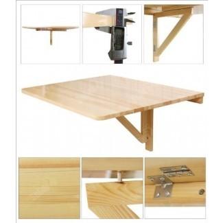 Mesa abatible de pared, mesa de comedor plegable, ...