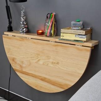 Mesa plegable abatible SoBuy®, estante de pared ...