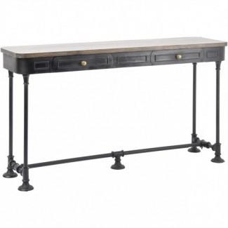 Sofá mesa de 72 pulgadas Sofás Magnífica consola delgada Mesa ...