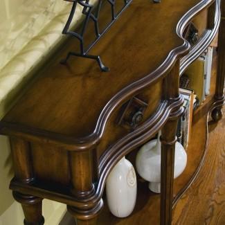 Cofres y consolas Consola Hall de 72 pulgadas con cuatro cajones ...