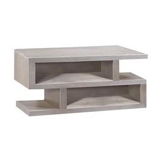 Aspenhome Contemporary Driftwood Consola de 72 pulgadas con 2 ...