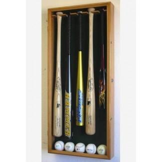 Vitrinas - Bate de béisbol - Acrílico UV de 5 murciélagos