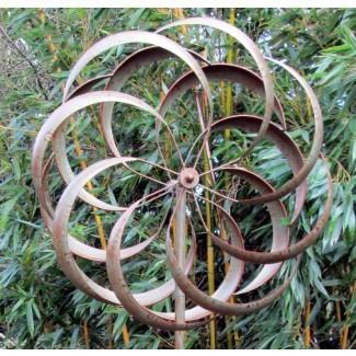 Spinner de viento de jardín / Escultura de viento - Arte cinético para