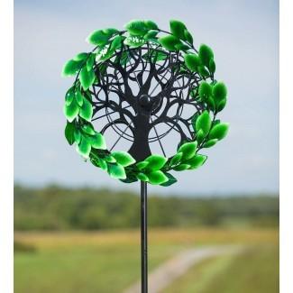 Spinner de viento del jardín del árbol de la vida