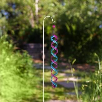 Metal Swirls Wind Spinner Rotator
